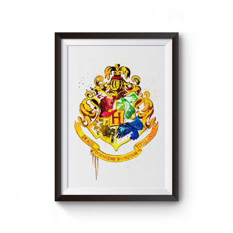 Harry Potter Hogwarts Crest Poster