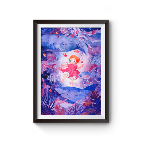 Ponyo Under the Sea