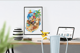 PenelopeLovePrints Pokemon Beach Walk prints - 3