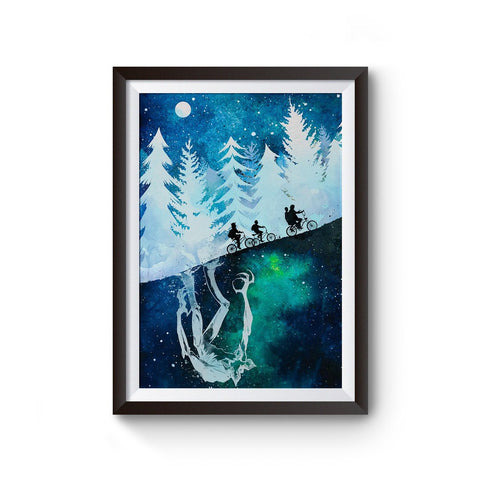 Stranger Things TV Art Poster