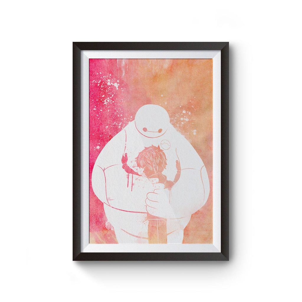 PenelopeLovePrints Baymax Poster prints - 1
