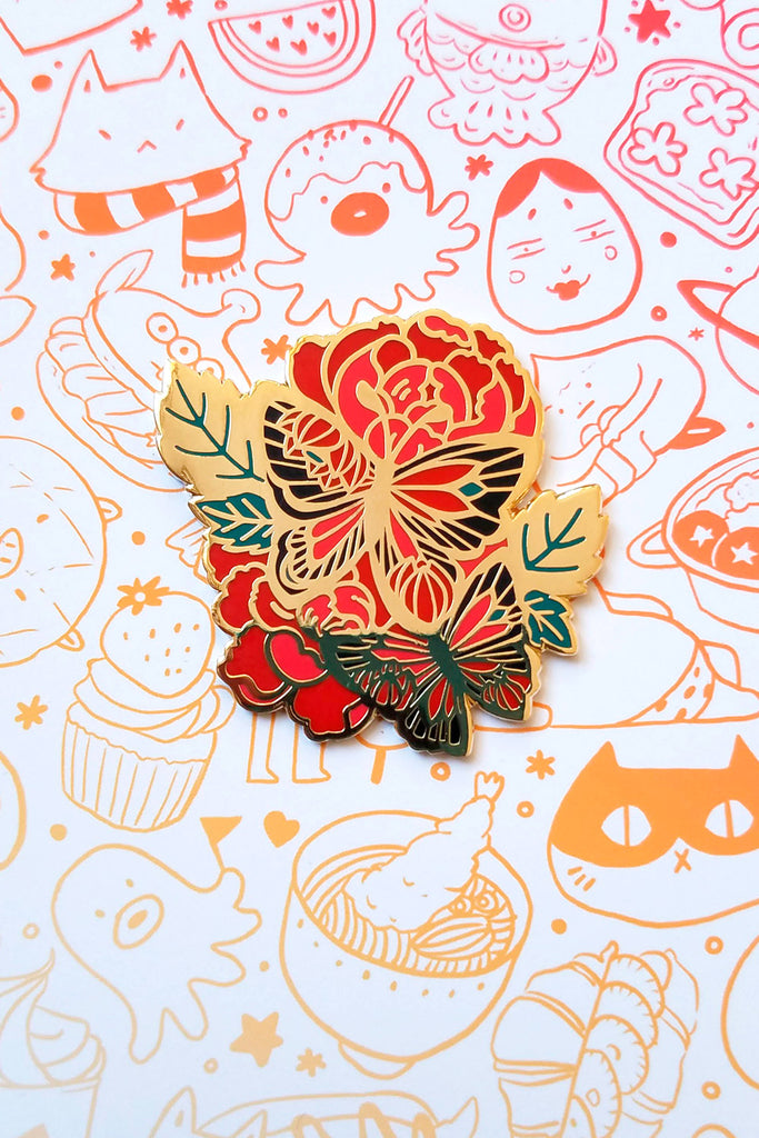 Butterflies Enamel Pin