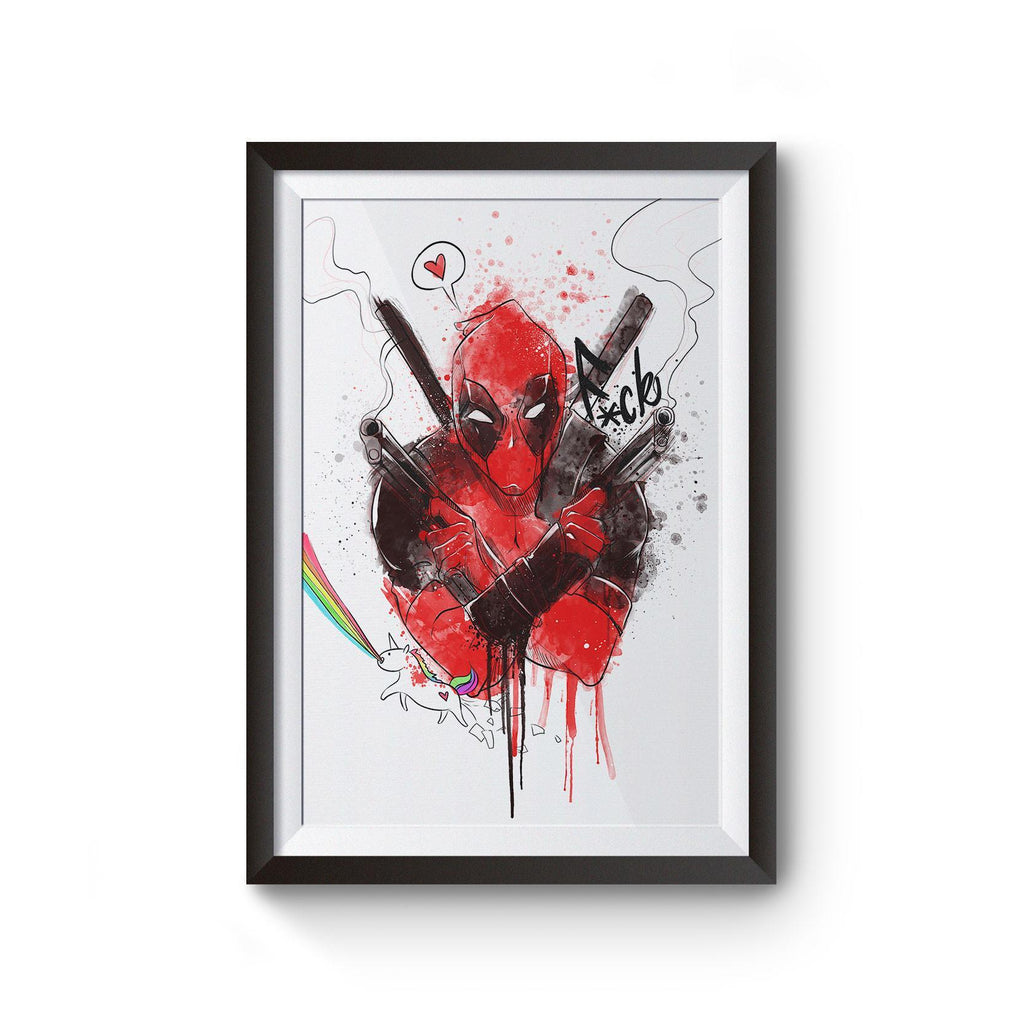PenelopeLovePrints Deadpool Poster prints - 1