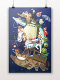 PenelopeLovePrints Geometric Ghibli prints - 2
