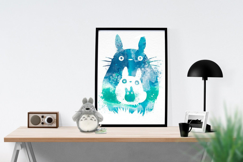 PenelopeLovePrints Totoro and Mini Totoros Poster prints - 2