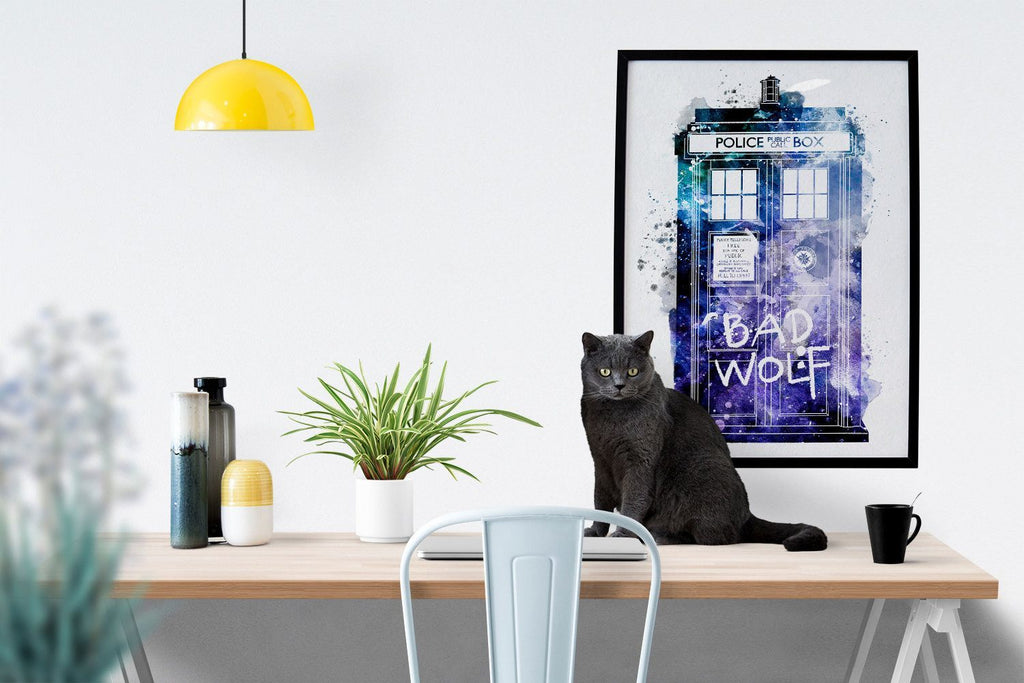 PenelopeLovePrints Doctor Who Tardis Poster prints - 2