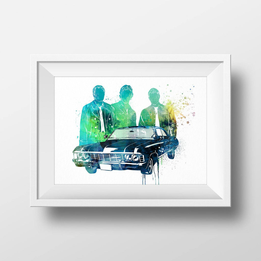 PenelopeLovePrints Supernatural Poster prints - 2