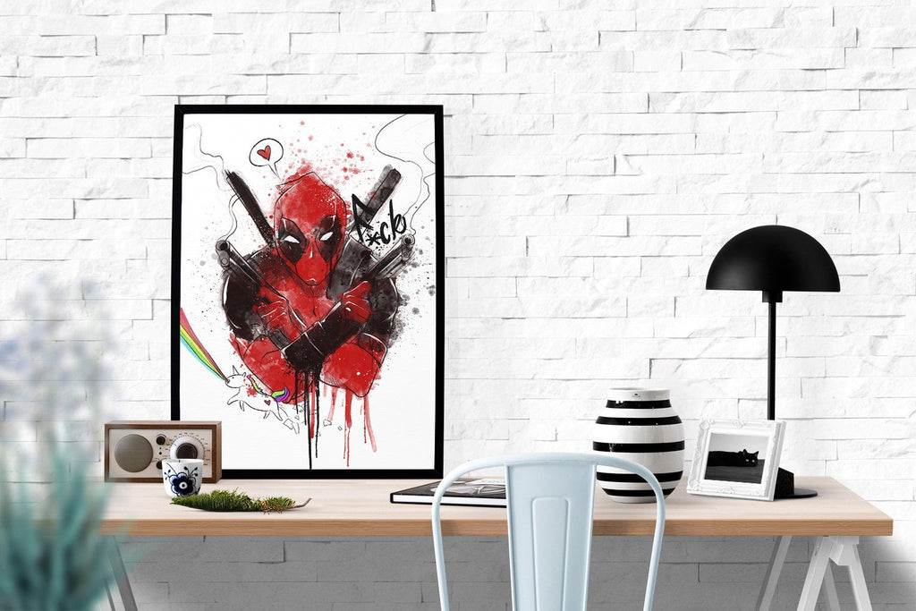 PenelopeLovePrints Deadpool Poster prints - 2