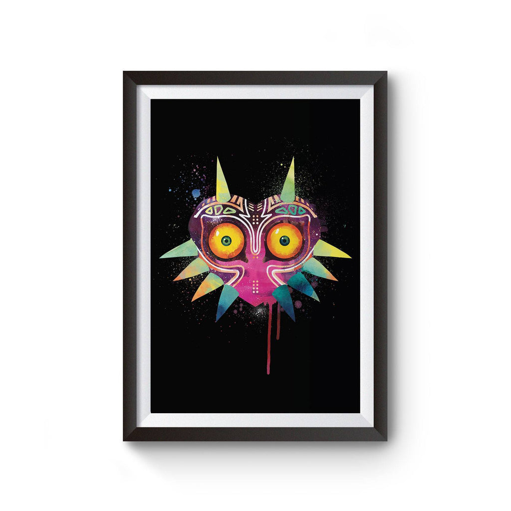 PenelopeLovePrints Legend of Zelda Majora's Mask Watercolor Print prints - 1