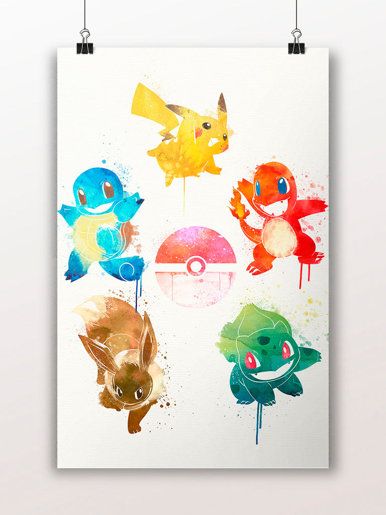 Pokemon feat. The Five Elements Poster