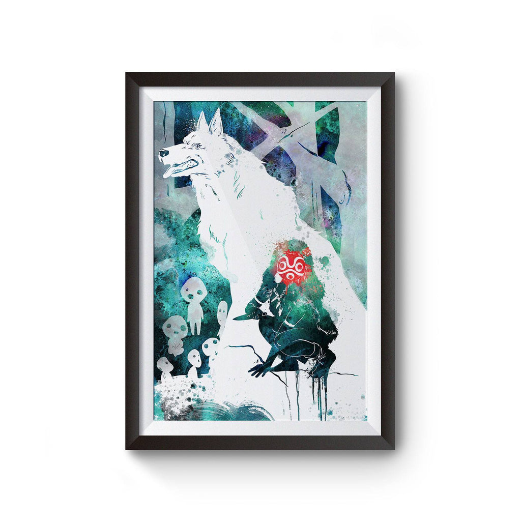 PenelopeLovePrints Princess Mononoke Poster prints - 1