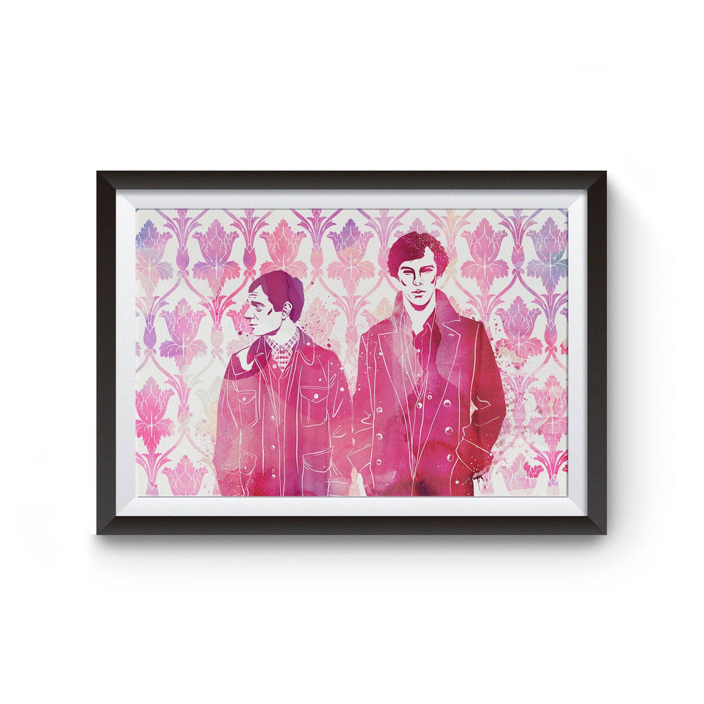 PenelopeLovePrints Sherlock Poster prints - 1
