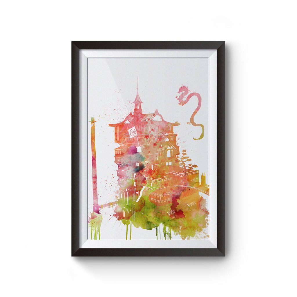 PenelopeLovePrints Spirited Away Bathhouse Poster prints - 1