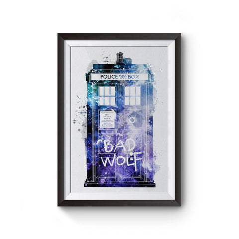 PenelopeLovePrints Doctor Who Tardis Poster prints - 1