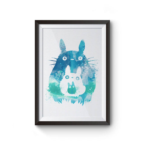 PenelopeLovePrints Totoro and Mini Totoros Poster prints - 1
