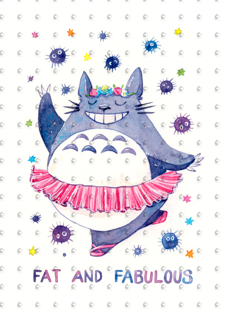 Totoro Fat and Fabulous
