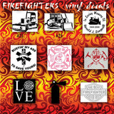 FIREFIGHTING vinyl decals - pgs 4-6