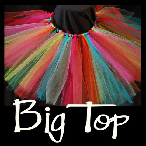 BIG TOP - handmade tutu skirts - first birthday tutu - tutus - tutu dress - costume tutu - shimmery tutu - glitter tutus - party tutu - CreativeStudio805