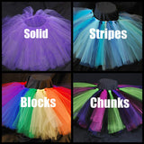 SIMPLICITY - baby - handmade tutu skirt - first birthday tutu - shimmer tulle - glitter tulle - tulle fabric - tutus - photography props