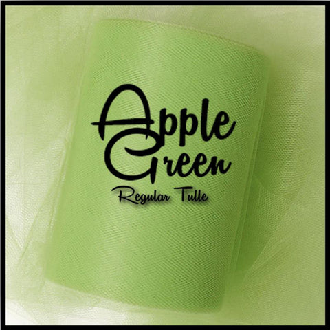 APPLE GREEN premium nylon tulle - 25 Yard Rolls - tulle rolls - tutu tulle - tulle backdrops - wedding tulle - CreativeStudio805