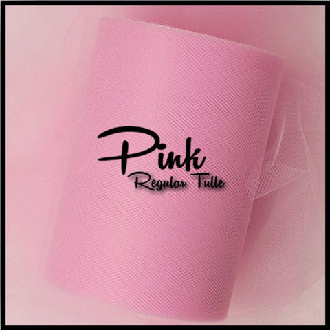PINK premium nylon tulle - 25 Yard Rolls - other colors and sizes also available
