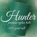 ORANGE - Premium Nylon Tulle - 100 yard rolls - other colors also available