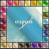 AQUA BLUE premium nylon tulle - 25 Yard Rolls - other colors and sizes also available - CreativeStudio805