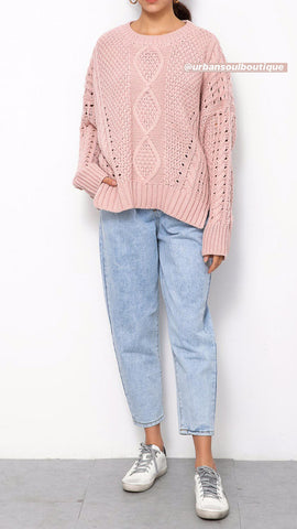 Sophie Knit - Blush