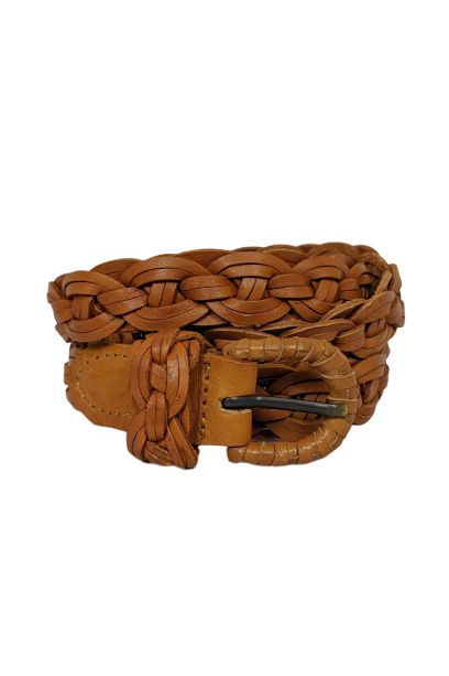 The Taylor Braided Leather Belt