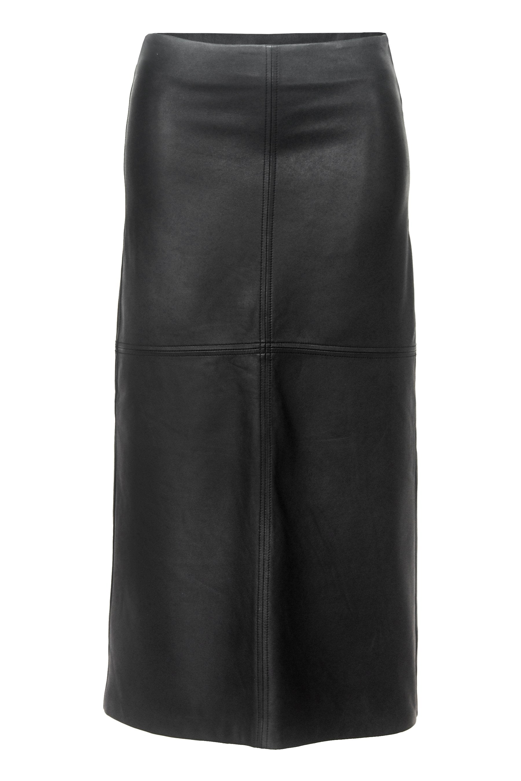 Sienna Leather Maxi Skirt