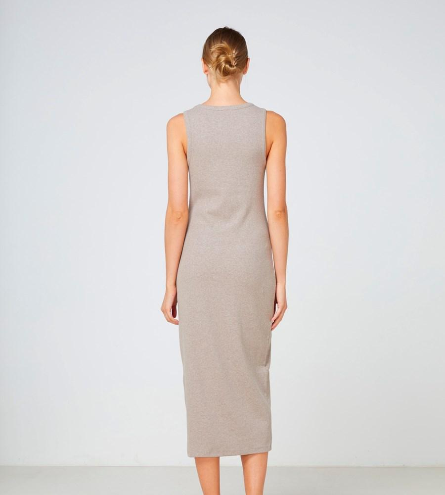 Nola Dress - Walnut
