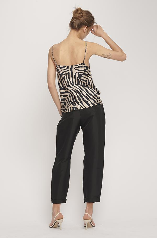 Silk Laundry Straight Neck Cami Matisse- 30% OFF