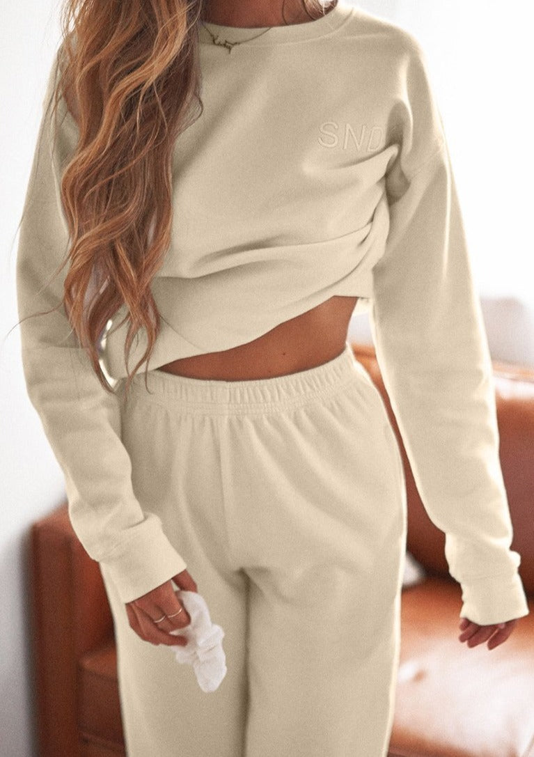 Lux Sweat Pant - Sand