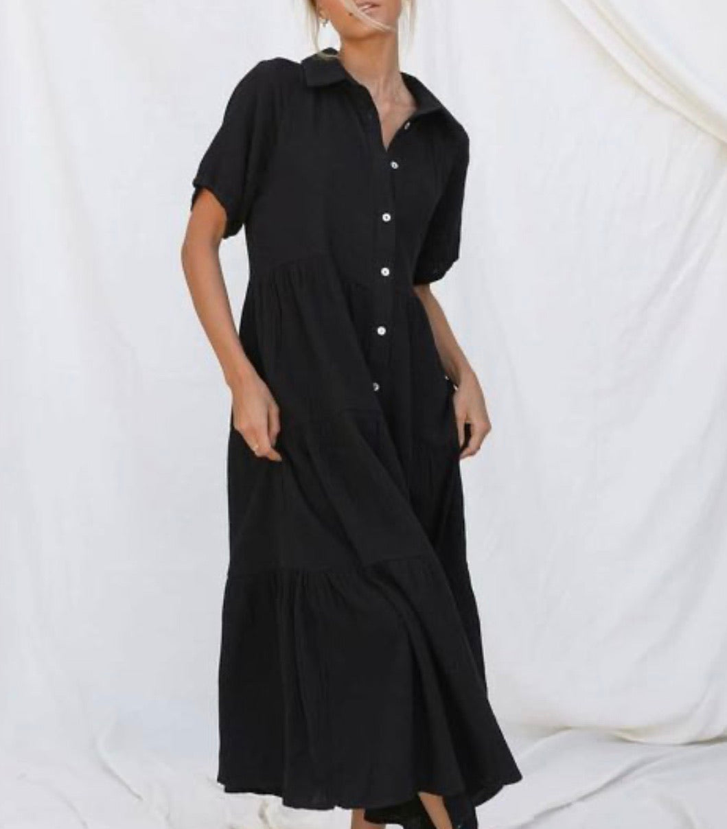 Billie Dress - Black