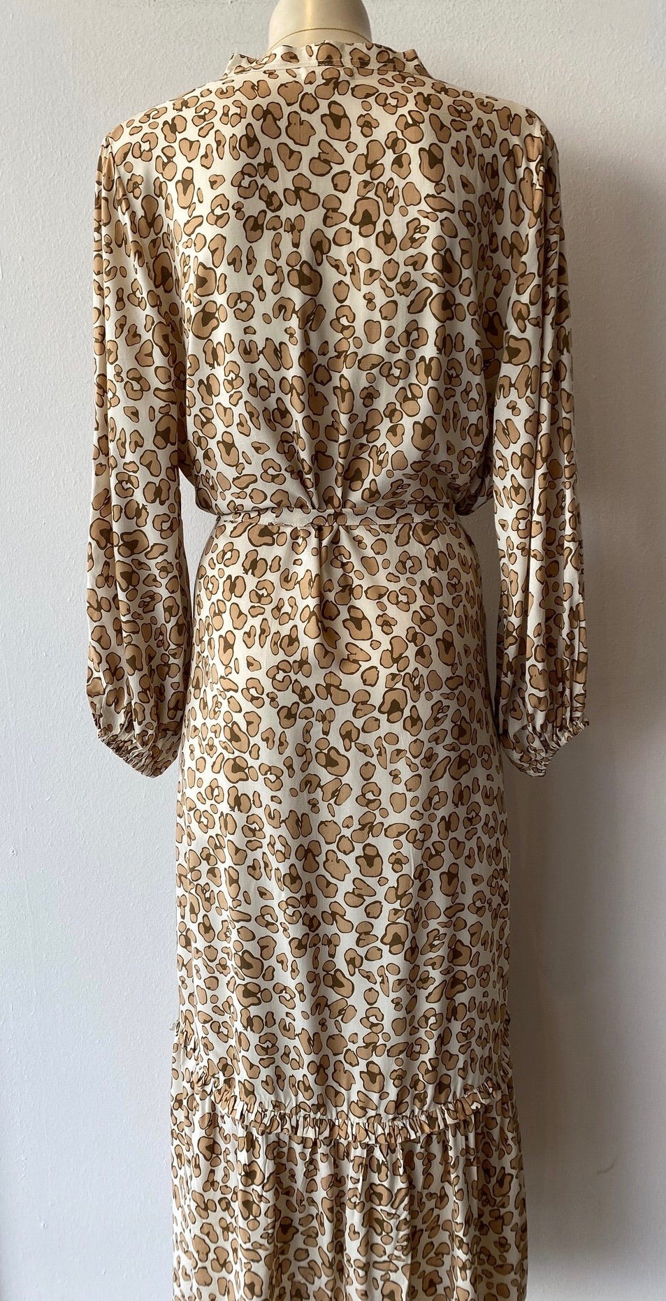 Margaux Dress - Safari Print