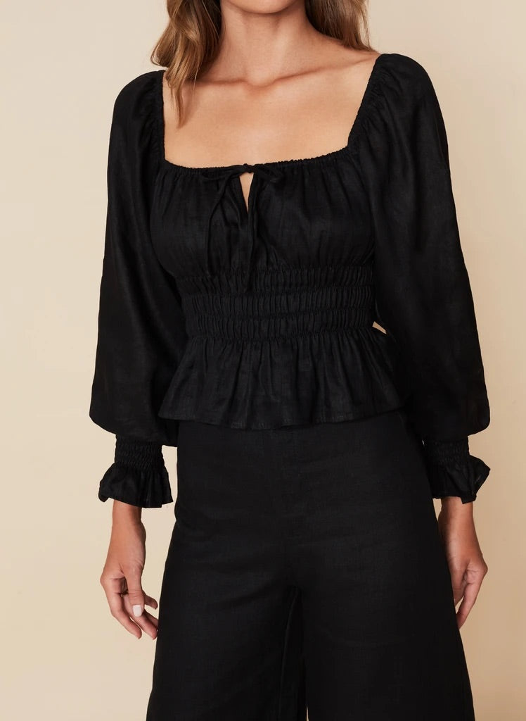 Gillian Top - Black