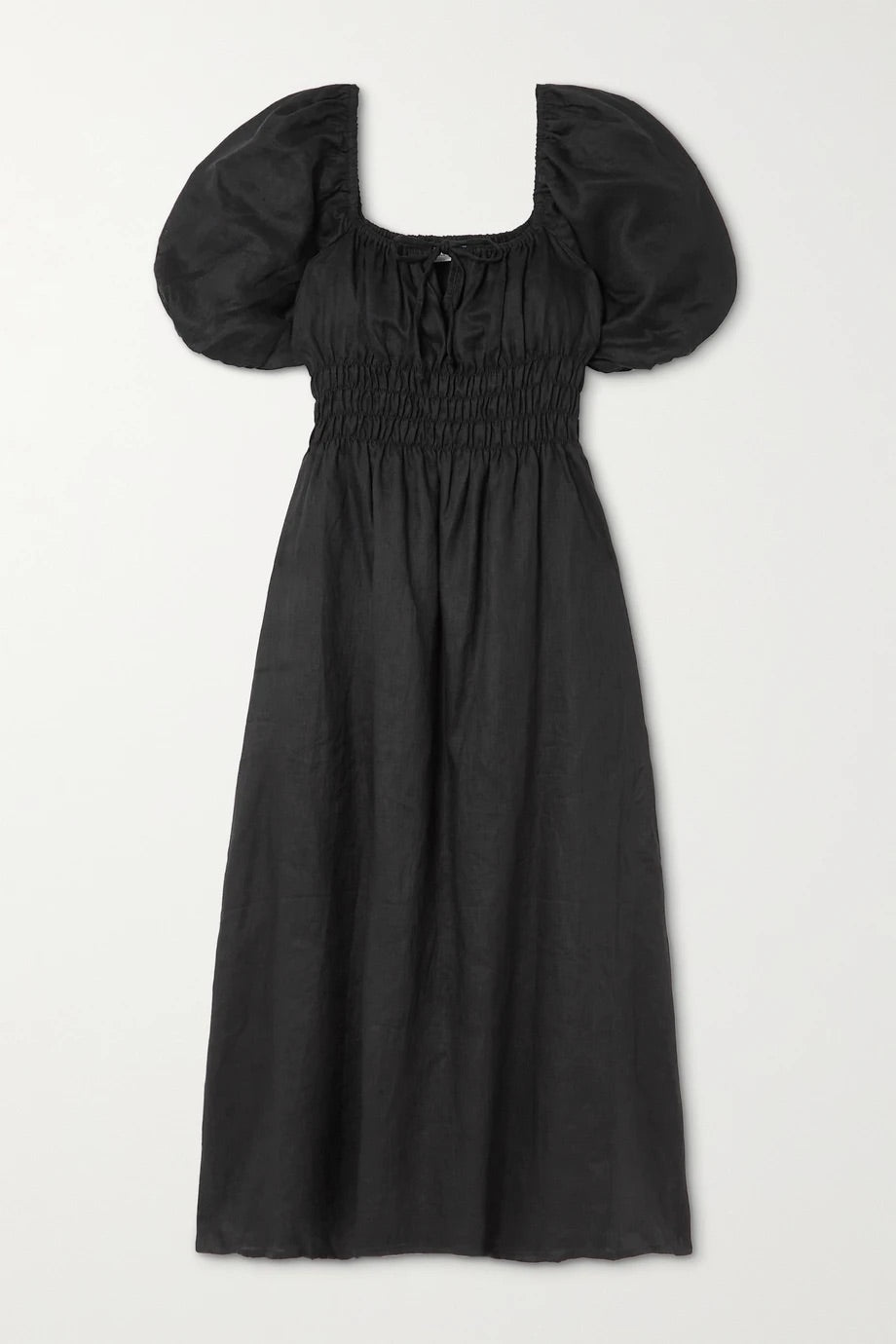 Maurelle Dress - Plain Black