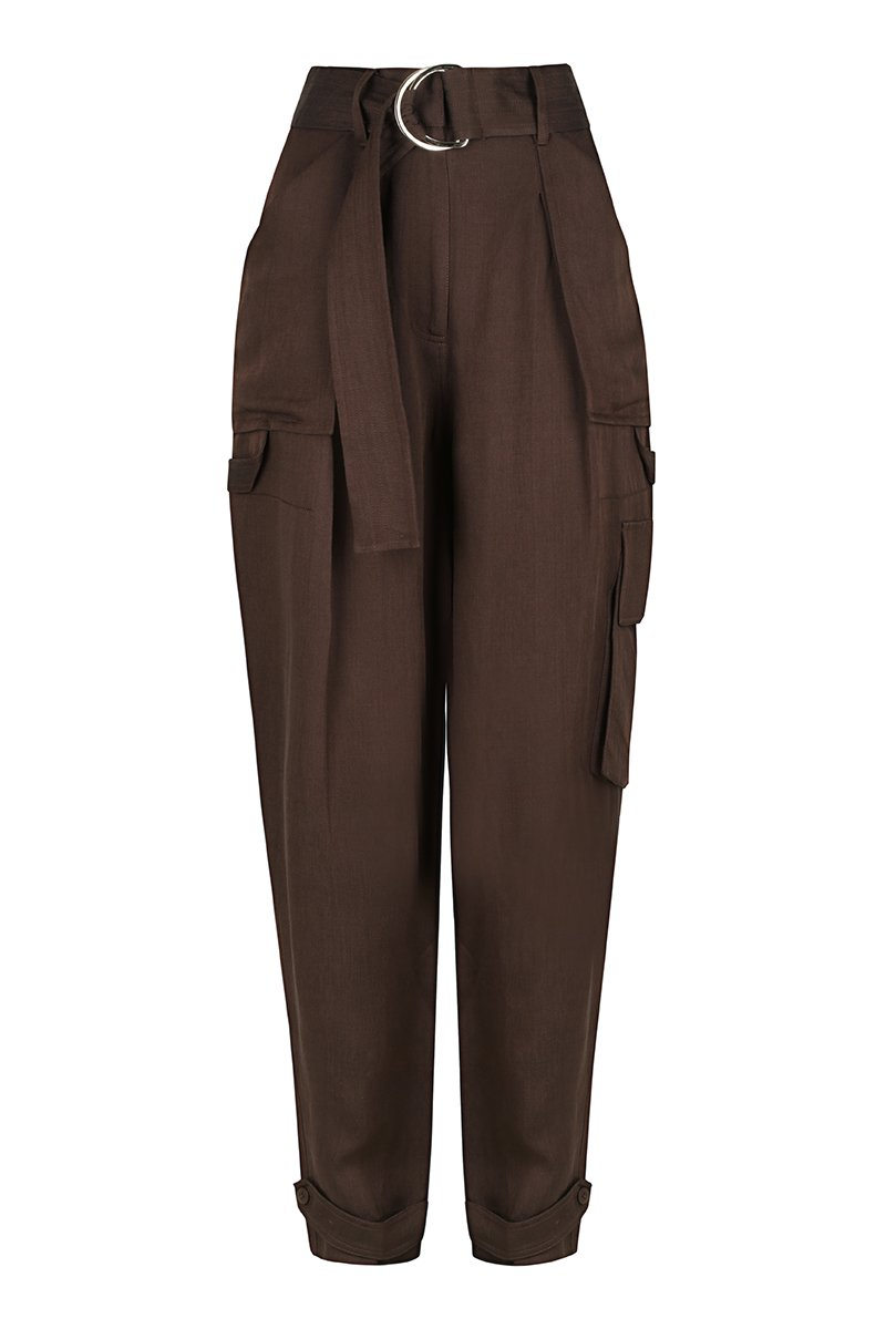Marie Cargo Pant - Chocolate