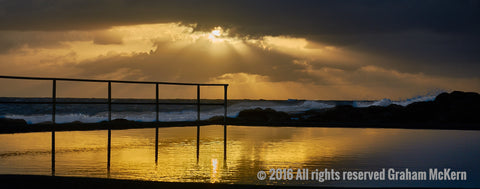Liquid Sunrise, Central Coast NSW