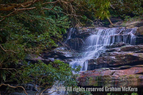 Bushland Cascades, Central Coast NSW
