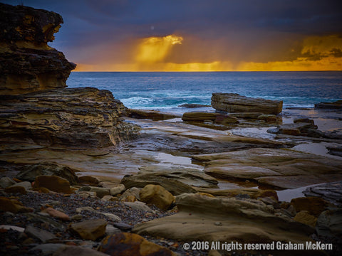 Dawn Breaks Through, Central Coast NSW
