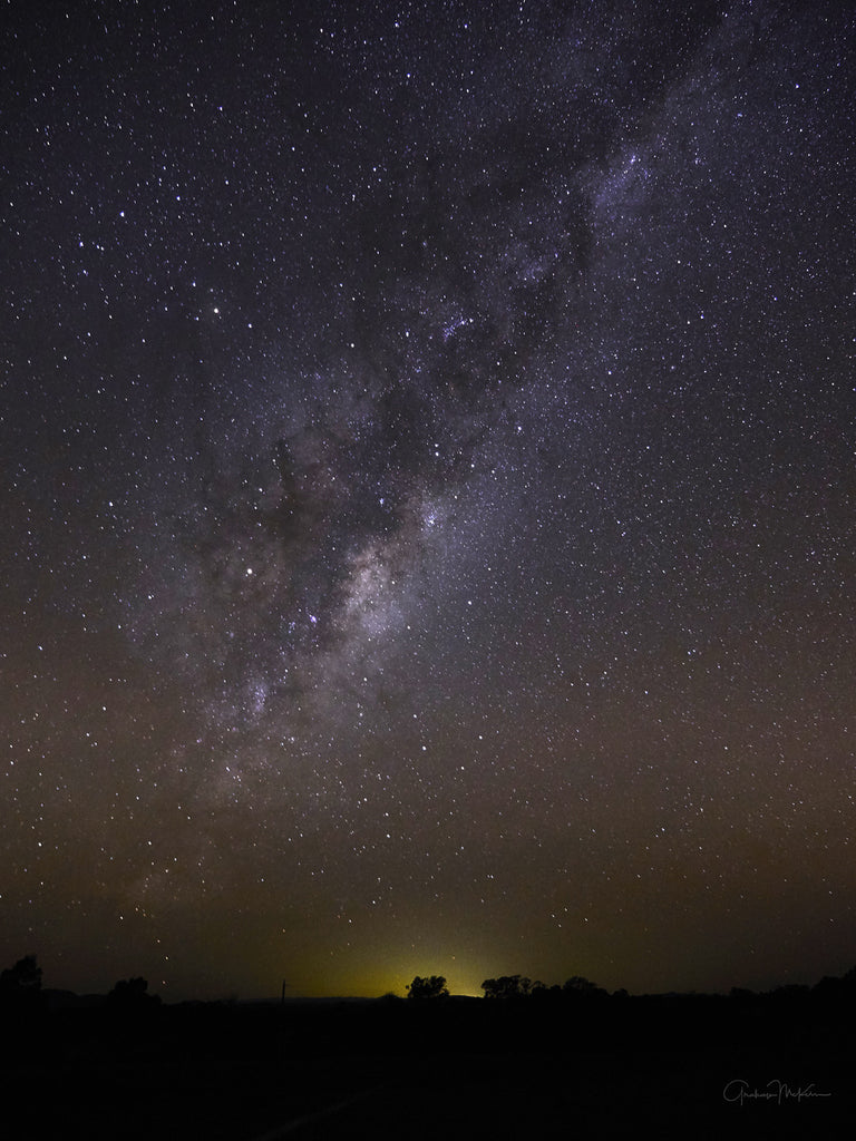 Digital Download Milky Way in the Grampians Internet Quality