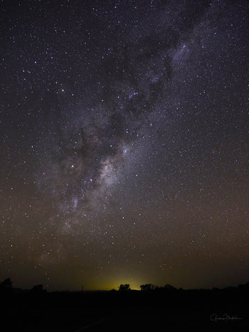 "Canvas Print Milky Way in the Grampians 16"" x 20"""