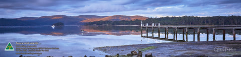 Greeting Card Panorama: Port Arthur, Tasmania