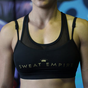 Artemis Crop black front