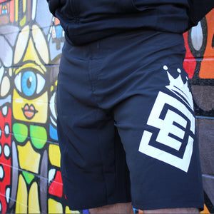 Box2Beach Board Shorts black front