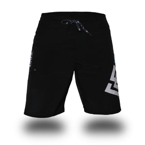 Box2Beach Shorts black front