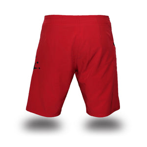 Box2Beach Shorts red back