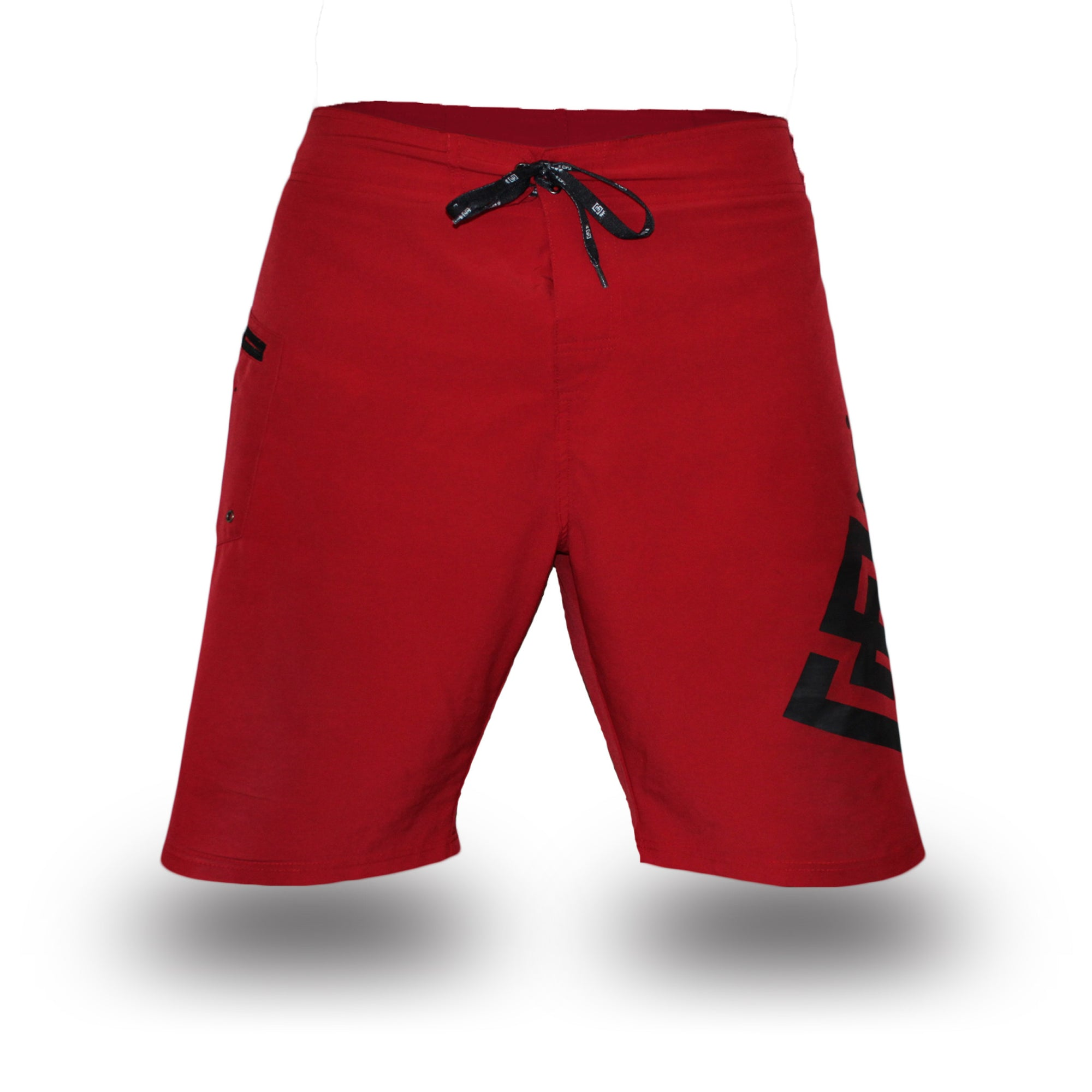 Box2Beach Shorts red front
