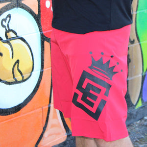 Box2Beach Board Shorts red front